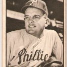 1953 Bowman Black and White Jim Konstanty #58 Philadelphia Phillies Card, cards