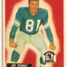 1955 Bowman Art Spinney Baltimore Colts #107 Football Card, cards