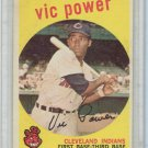 1959 Topps Vic Power Cleveland Indians Baseball Card, cards