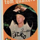 1959 Topps Tom Qualters #341 Chicago White Sox Baseball Card, cards