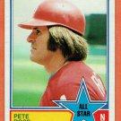 Pete Rose 1983 Topps#397 All Star Baseball Card, cards