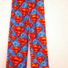 boys DC COMICS SUPERMAN LOUNGE SLEEP PANTS PAJAMAS