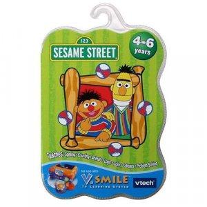 V Smile Amp Pocket Vtech Smartridge Sesame Street Bert Amp Ernie S