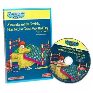 Fisher Price Read With Me DVD - Alexander and the Terrible, Horrible, No Good, Very Bad Day