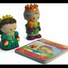 King & Queen Redwood 2pk -- Play Town by Learning Curve