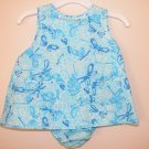Lilly Pulitzer Baby Lilly Shift Dress Beach Club Fly By 3 - 6 Months