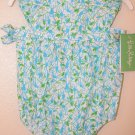 Lilly Pulitzer Flutter Bubble Print White Monkey In Around  3 - 6 Months