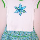 Lilly Pulitzer Adele Top & Patton Skirt Monkey Girls Size 6