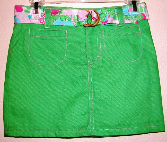 Lilly Pulitzer Dora Skort skirt Seagrass green size 6 NEW