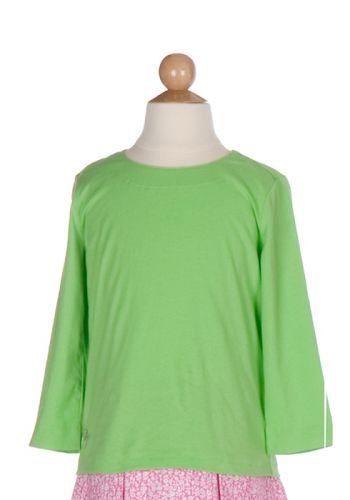 Lilly Pulitzer Tibby Top Seagrass Green Girls Size 6