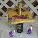 4 glass wine caddy