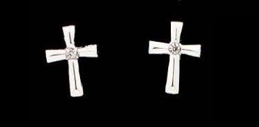 Classic Cross Earrings
