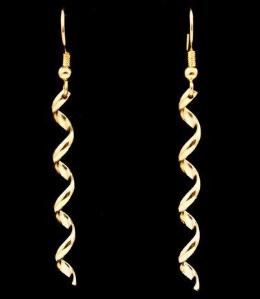 Corkscrew Hook Earrings