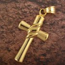 9k Gold Filled Cross Pendant Robe
