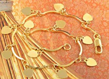 9k Gold Filled Love Blade Necklace