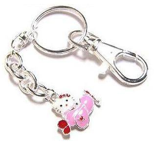 Hello Kitty Airplane Cell Phone Jewelry Collectible
