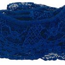 4 yds Royal Blue Craft Lace
