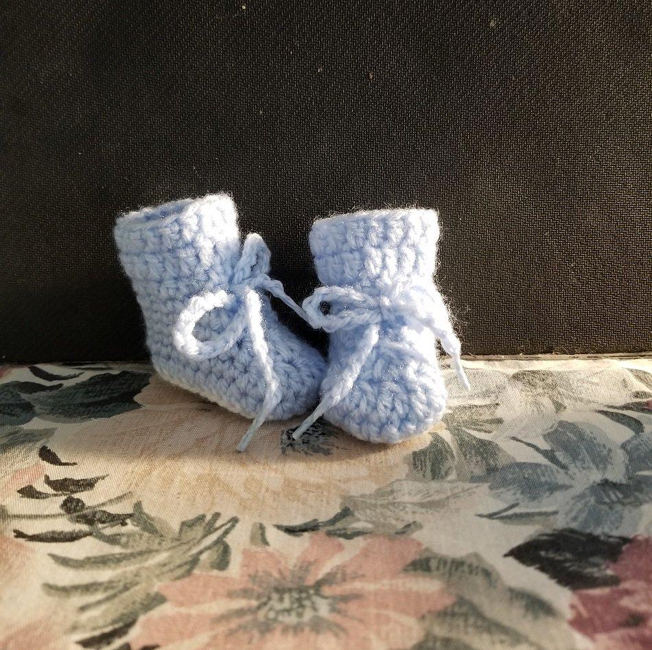 Sky Newborn Boot Shoe Slipper Booties
