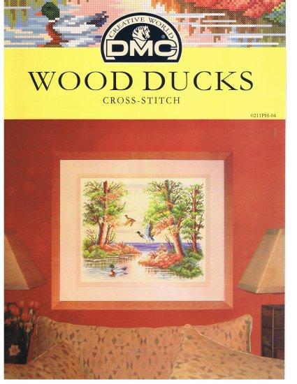 DMC's WOOD DUCKS Counted Cross Stitch Pattern