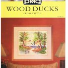 DMC's WOOD DUCKS Counted Cross Stitch Pattern