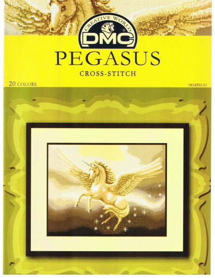 DMC's PEGASUS Counted Cross Stitch Pattern