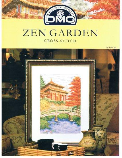 DMC'S ZEN GARDEN Counted Cross stitch Pattern
