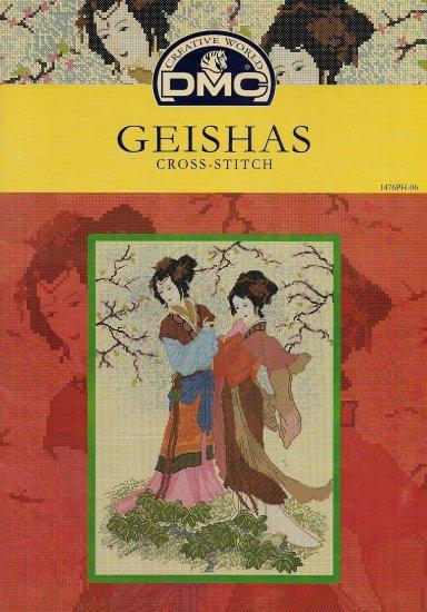 DMC's GEISHAS Counted Cross Stitch Pattern