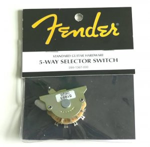 NEW Genuine Fender Stratocaster Strat 5-way switch