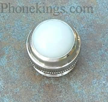 Replacement indicator light Jewel For Fender amps White