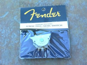 NEW Fender Telecaster 4-way pickup switch