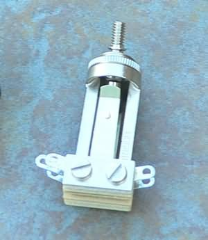 Switchcraft  3-way  pickup  switch,  replaces Gibson to