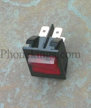 NEW power switch replacement for  Marshall amps lighted