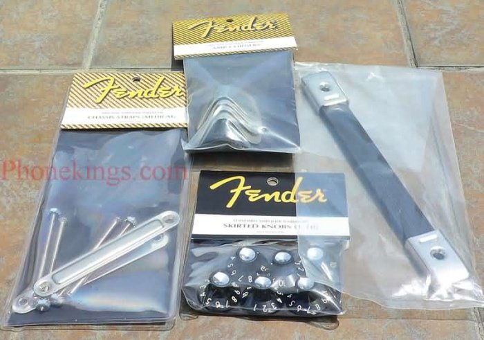 NEW Original Fender Hardware kit  Blackface Dleuxe Med