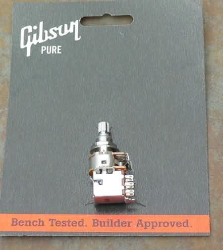 Gibson 500K potentiometer pot  Short shaft Push Pull
