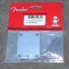 Fender Guitar Neck Plate  for Telecaster  Strat  Corona