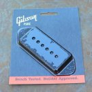 Genuine Gibson P-90 P90  pickup Cover Dog Ear BLACK