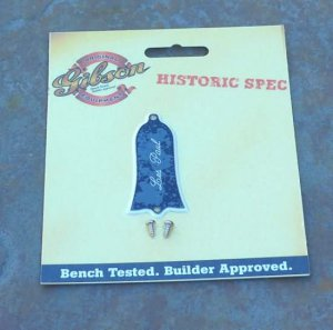 Genuine GIBSON Truss rod cover For Les Paul Historic 61