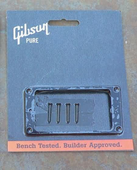 "NEW Gibson Les Paul  Pickup Ring Black BRIDGE 3/8"""