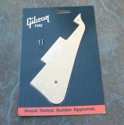 Genuine GIBSON Les Paul Std.  Pickguard Cream