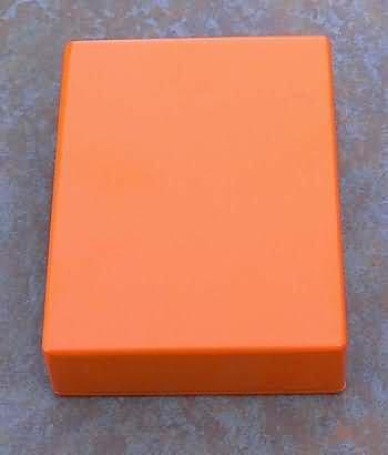 Diecast Aluminum Project  Box Hammond 1590BB size Orang