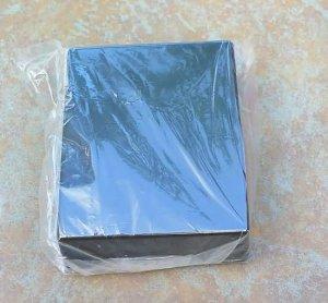 Diecast Aluminum Project  Box Hammond 1590BB size Black
