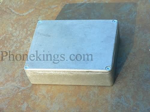NEW Diecast Aluminum Project  Box Hammond 1590BB size