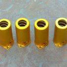 12ax7 Tube Shield - 9 Pin Gold  (4)