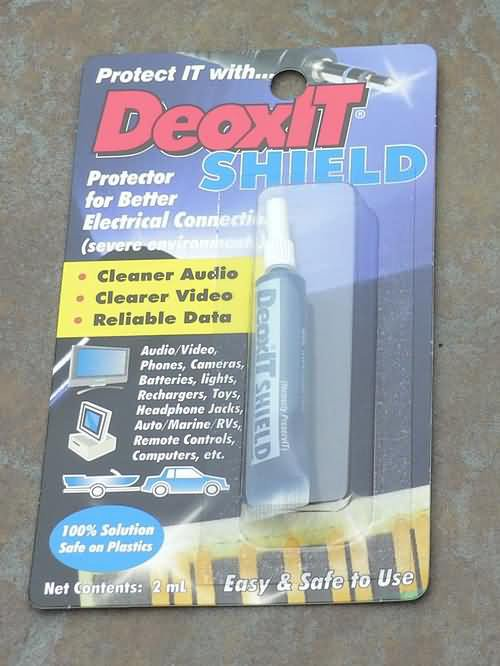 DeoxIT SHIELD Squeeze Tube, 100% solution SHIELD