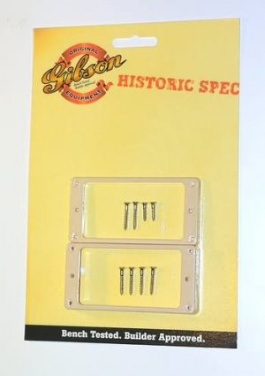 NEW Gibson Historic Spec Pickup Rings Cream