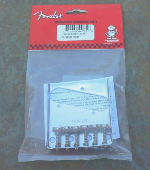 Fender Telecaster Guitar Bridge SIX  saddles