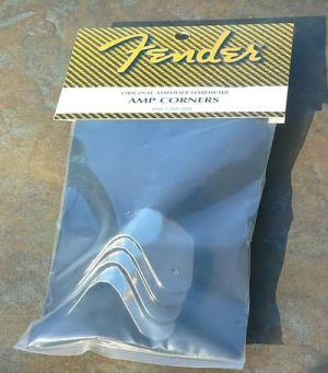 NEW Original Fenderamp amplifier corners 2 screw Mount