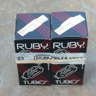 NEW  Matched Pair of RUBY  6L6 GC amplifier tubes