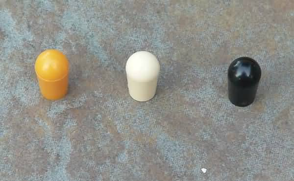 Pickup switch tip cap  end SET for Gibson & switchcraft