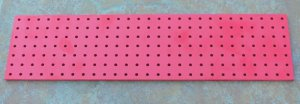Turret Board for amp  amplifier projects  Blank Red